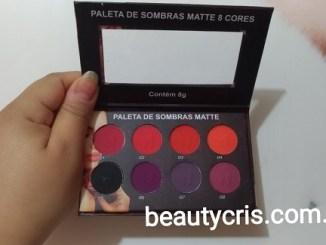 <p>Hoje vou mostrar para vocês a nova paleta da Ludurana Make Up. São 8 cores no acabamento matte. Será que são boas mesmo? São pigmentadas?</p>