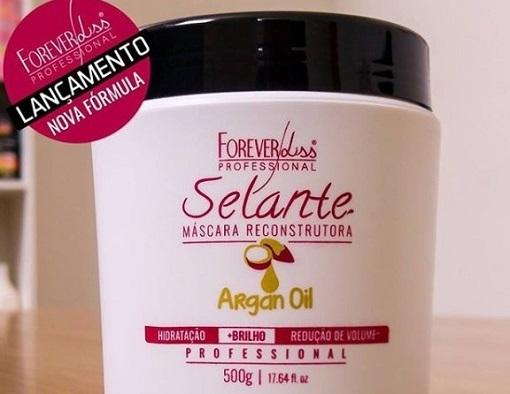 Selante Térmico Orgânico Argan Oil da Forever Liss