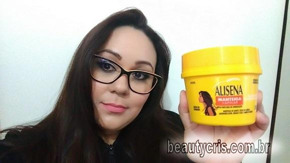 Alisena Manteiga Capilar da Muriel - Resenha Completa