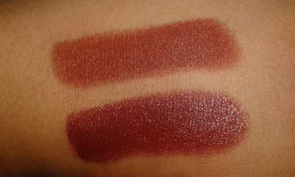 Cor-26-Queen-Make-Up-dupe-Paramount-MAC-600x360 Resenha dos batons marrons Queen Make Up Coleção Ultra Classic