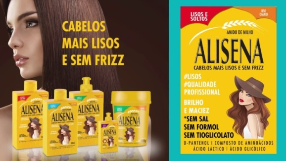 alisena-muriel-693x390 Linha Alisena da Muriel Cosméticos para cabelos mais lisos