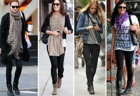 calça-legging-e-bota-para-o-inverno Looks para o outono-inverno 2018: tendências