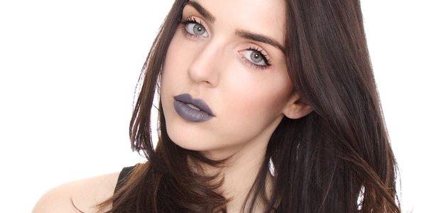 Tendência: Cinza em cores de maquiagens