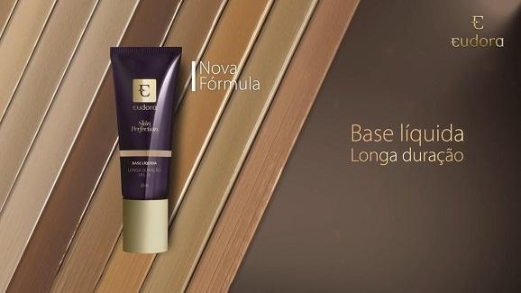 Testei: Nova Base Eudora Skin Perfection Reformulada