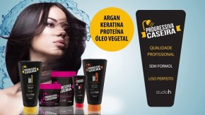 progressiva caseira muriel - Progressiva Caseira Studio Hair da Muriel
