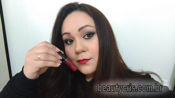 batom dark rouge comfort matte