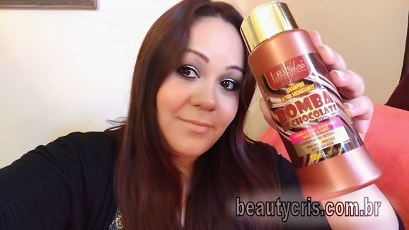 shampoo bomba de chocolate forever liss