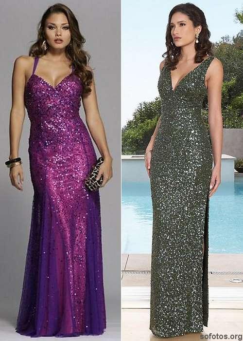 vestidos de formatura com gliter