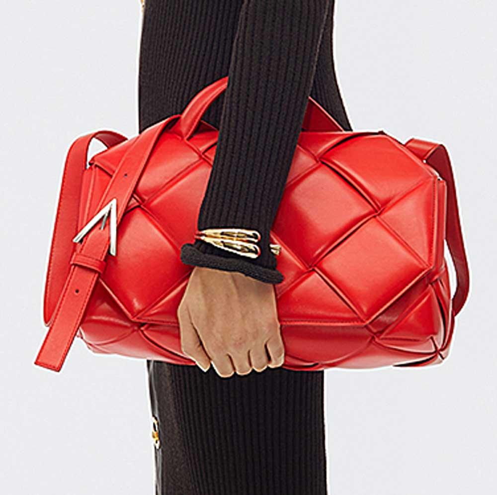 bag colorata in nappa