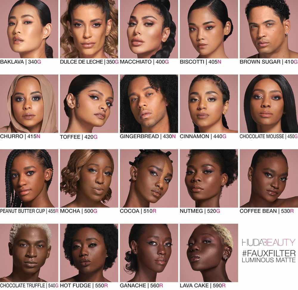 Huda Beauty Faux Filter foundation