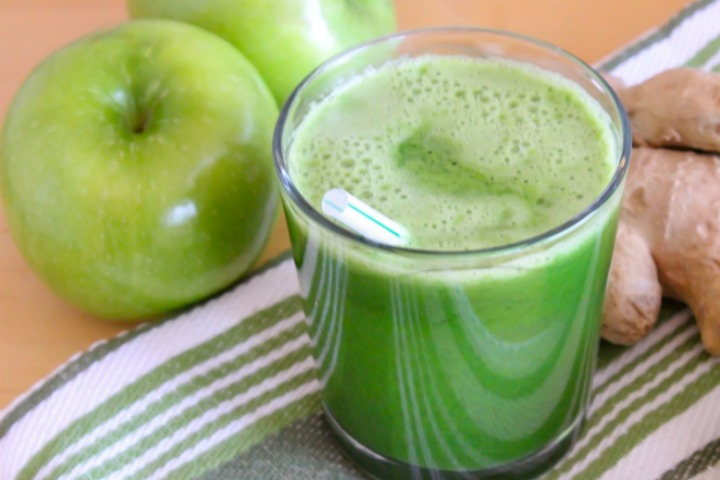 Juice to cleanse the bowels
