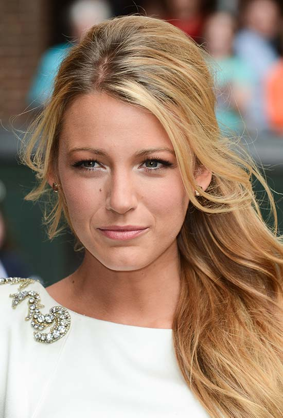 Blake Lively Medium Length Haircuts for Thick Hair
