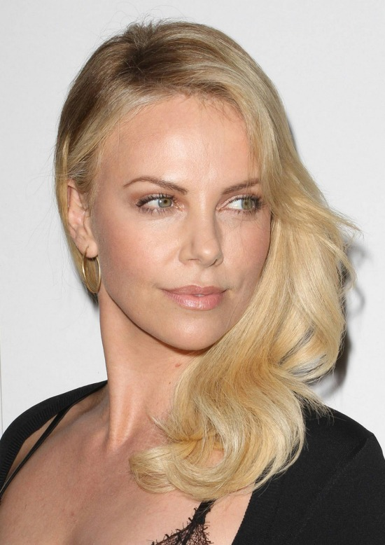 Charlize Theron's Long Layered hairstyle