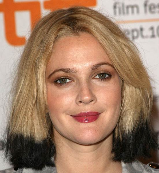 Drew Barrymore Medium Bob Hairstyles