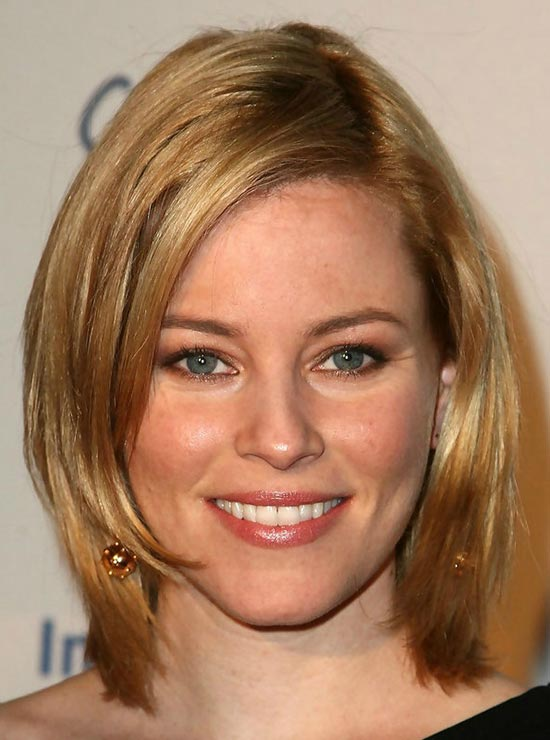Elizabeth Banks Long Bob Hairstyles