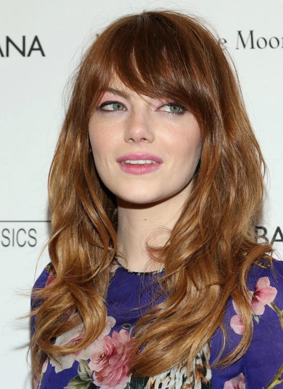 Emma Stone Long-and-layered