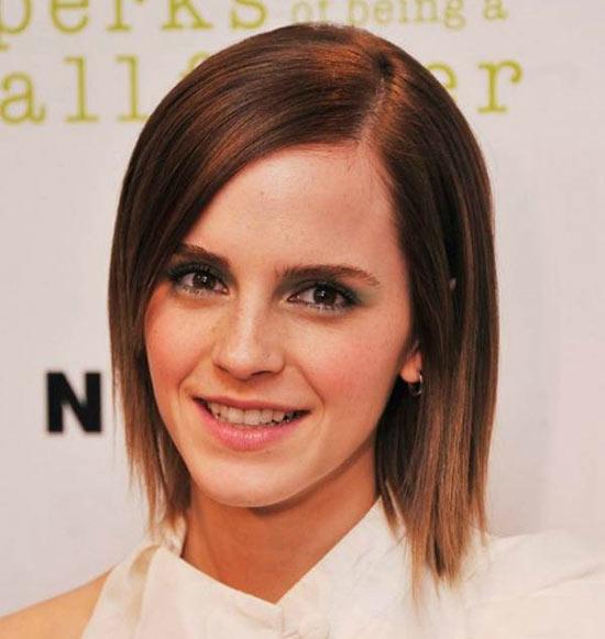 Emma Watson Bob Haircuts for Fine Hair