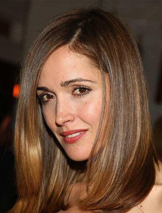 Felicity Jones Medium Length Haircuts for Thick Hair