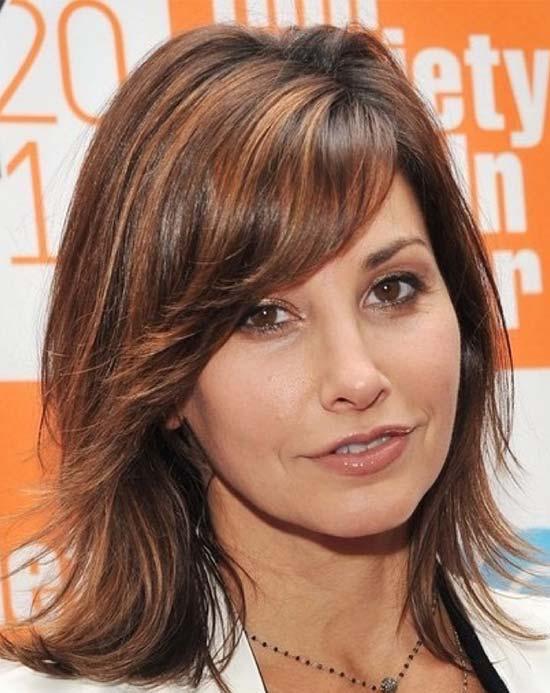 Gina Gershon Medium Length Haircuts for Thick Hair