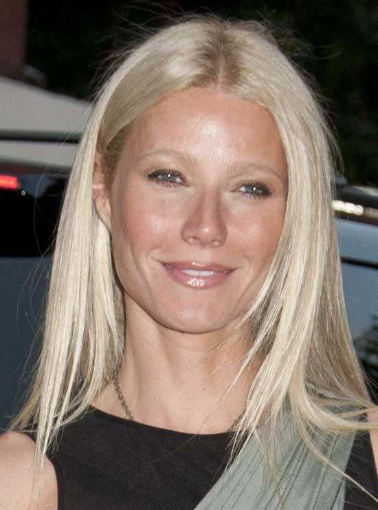 Gwyneth paltrow Medium Blonde Hairstyles