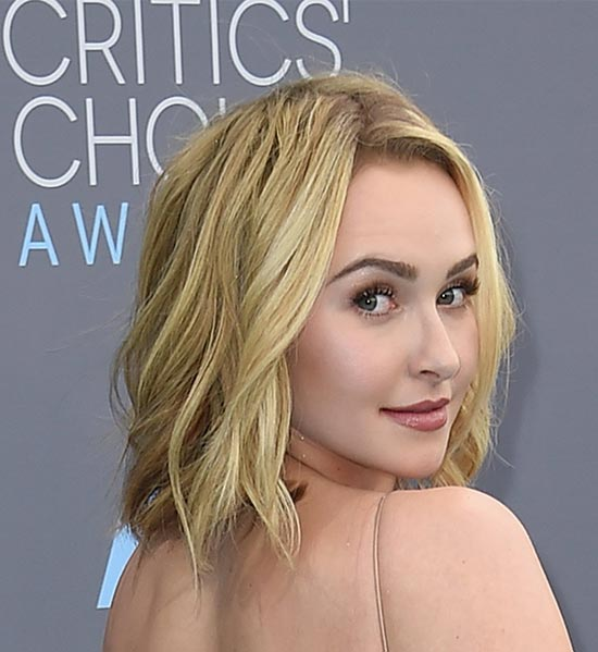 Hayden Panettiere Medium Length Hairstyles for Thin Hair