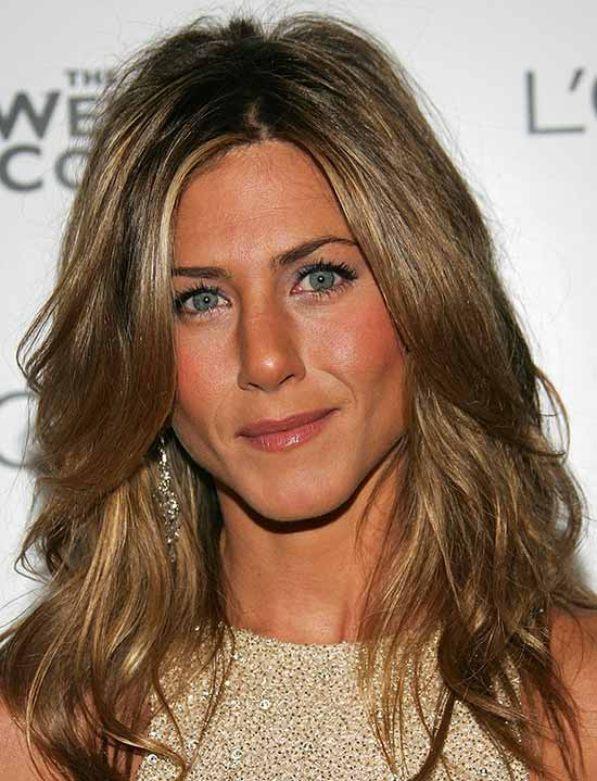 Jennifer Aniston Medium Curly Hairstyles
