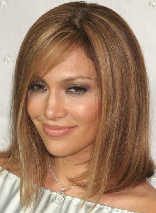 Jennifer Lopez Layered Bob HairStyles
