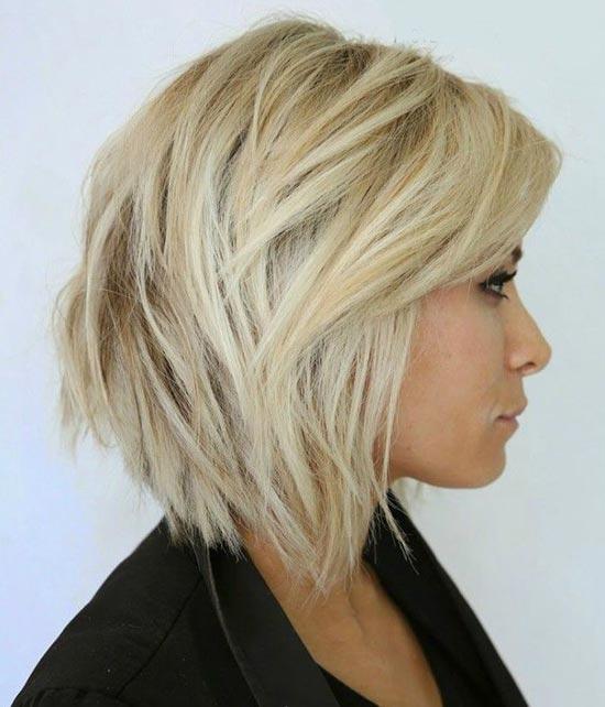 Jessica Biel Bob Haircuts for Fine Hair