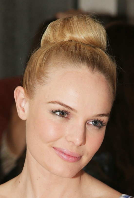 Kate Bosworth High Bun
