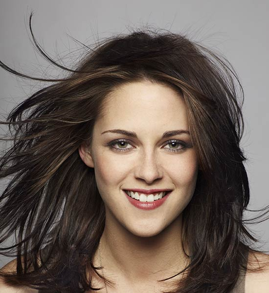 Kristen Stewart Medium Layered Haircuts