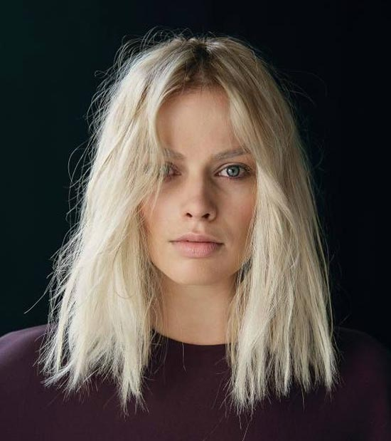 Margot Robbie Shaggy Bob Haircuts