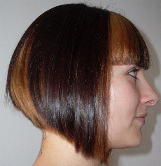 Mariana Seoane Angled Bob Hairstyle