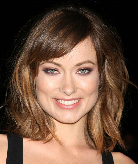 Olivia Wilde Long Bob Hairstyles