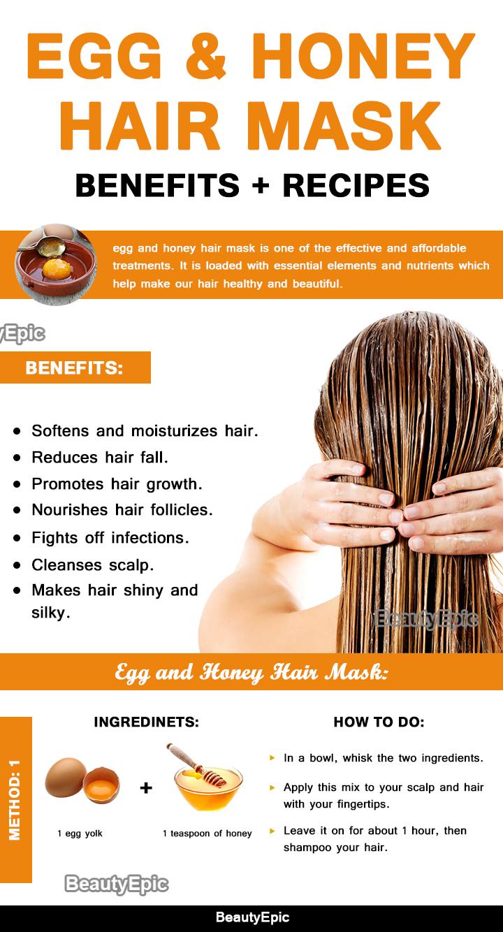 Egg And Honey Hair Mask Benefits Top 9 Hair Mask Recipes