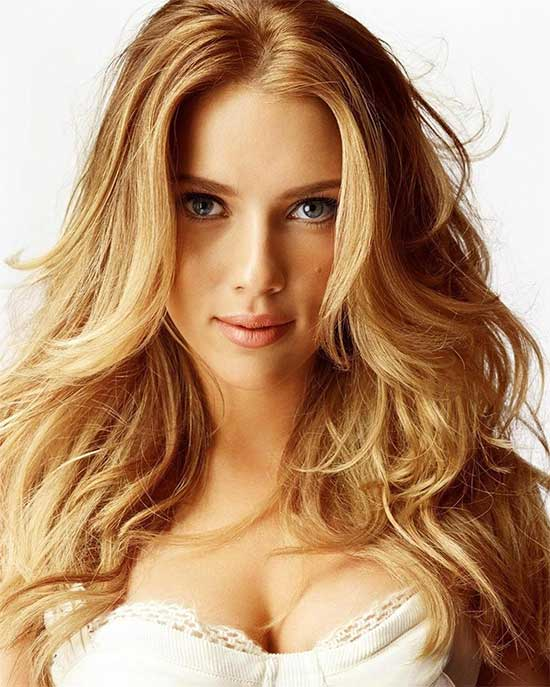 Scarlett johansson Medium Blonde Hairstyles