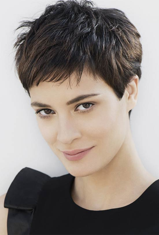 Alessandra Amoroso Pixie Haircuts for Thick Hair