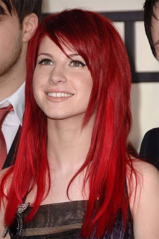 Hayley Williams RedsHairs
