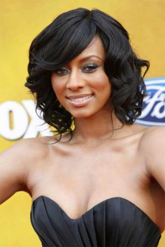 Keri Hilson Bob Hairstyles for Black Women