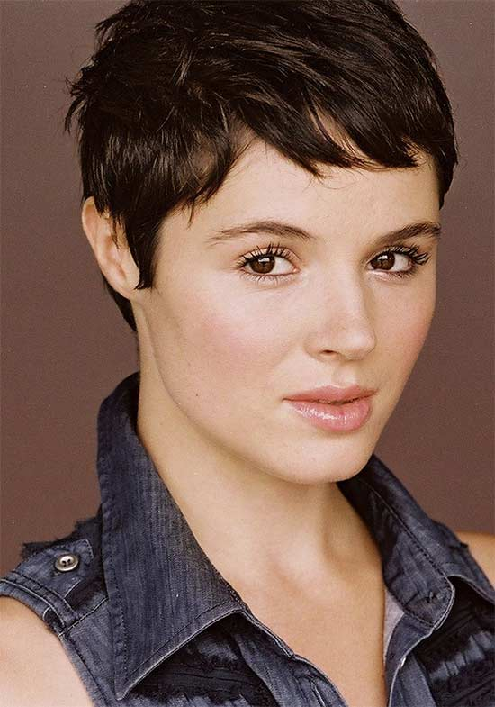 Kether Donohue Pixie Haircuts for Thick Hair