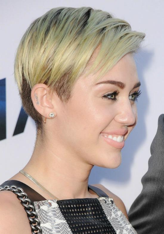 Miley Cyrus Blonde Hair