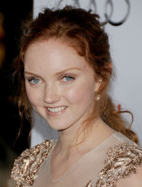 Lily Cole Red Hairstyle