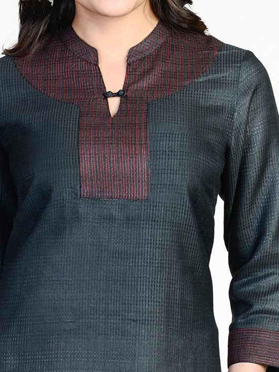 Back Neck Designs For Kurtis With Collar For Women Different Types Of Necklines To Try In Your Kurtis Blouses Discover The Latest Best Selling Shop Women S Shirts High Quality Blouses