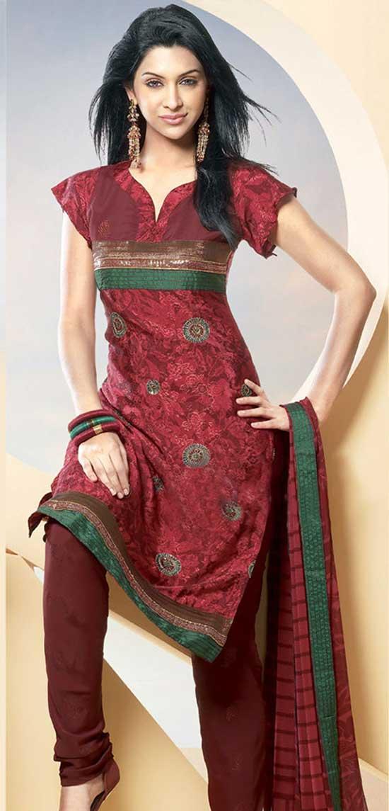 Cotton Salwar Neck Designs