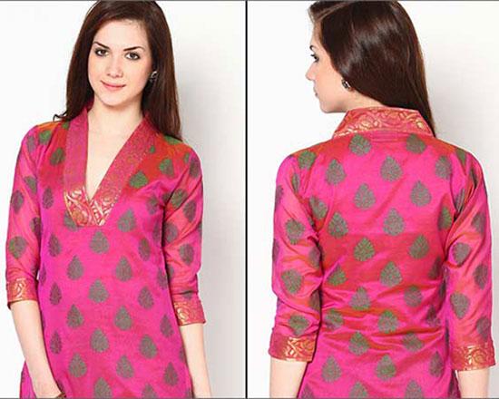 Latest Churidar Neck Designs & Patterns