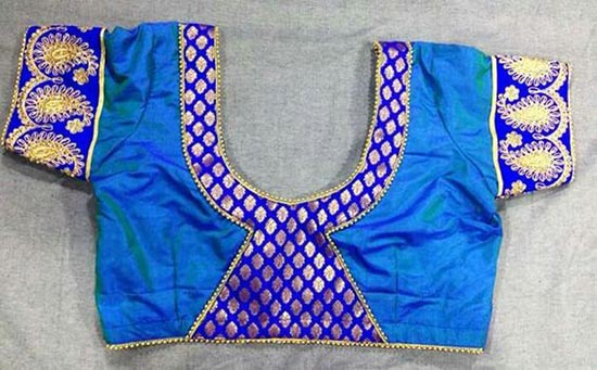 Y shaped patch work