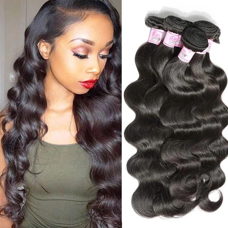 Beautyforever Brazilian Body Wave Hair 100 Remy Human
