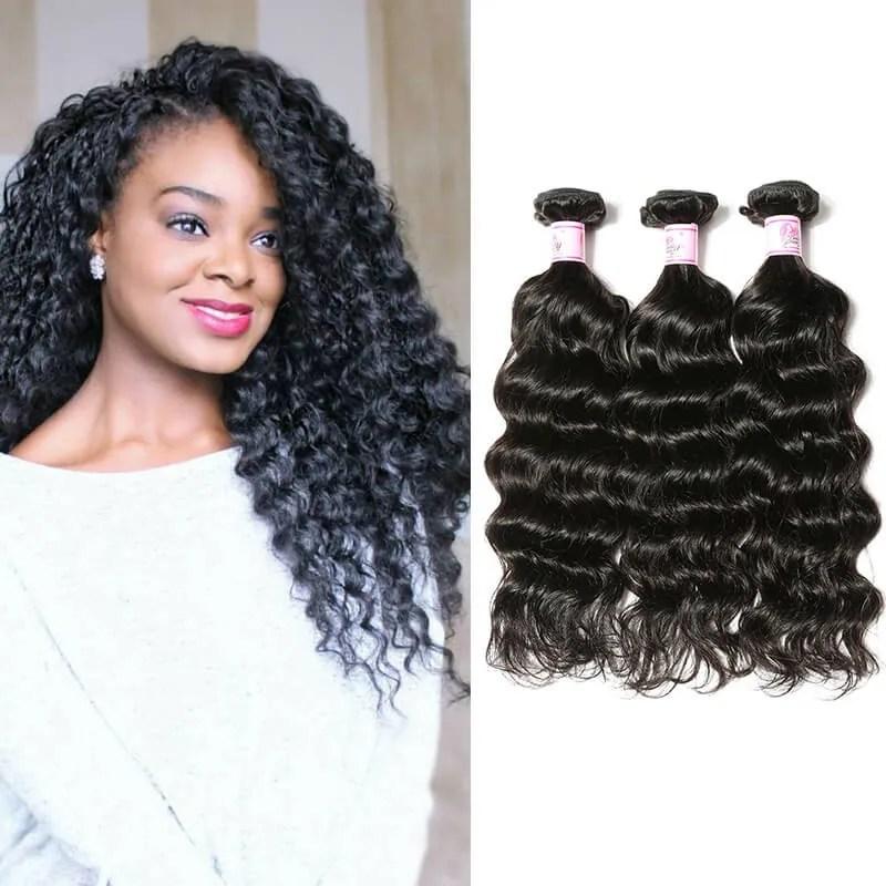 Beautyforever Virgin Malaysian Hair Deep Wave Weave