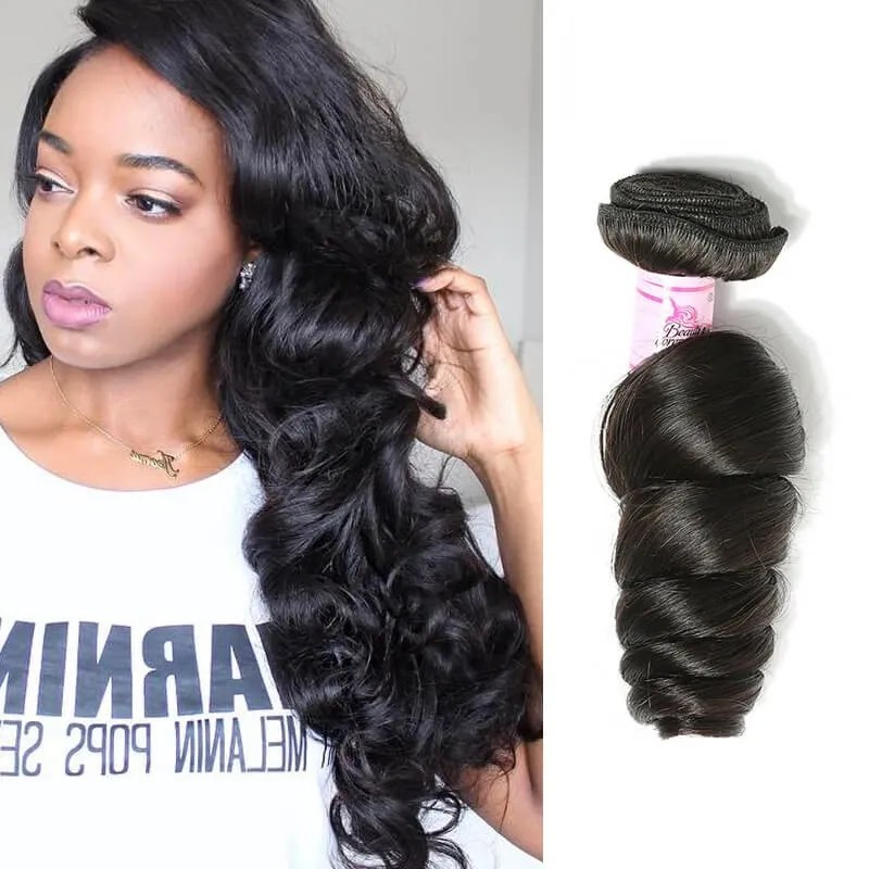 Beautyforever Brazilian Loose Wave Hair African American