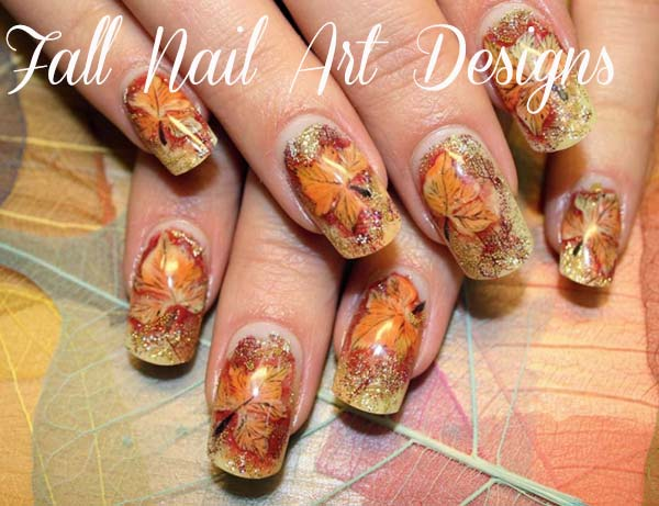 Simple Yet Clic French Tip Of And Silver Polish Finished With A Fall Flower