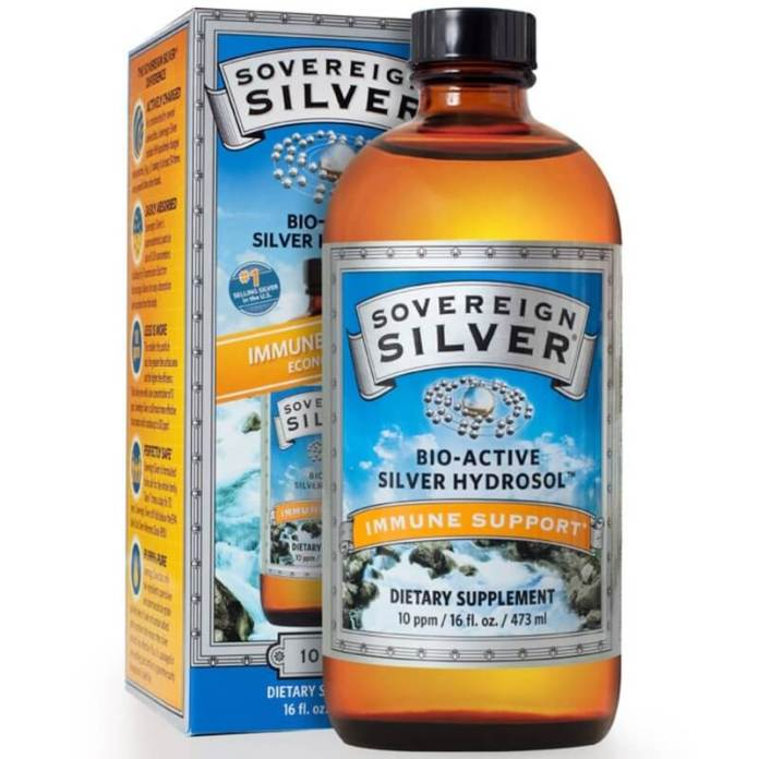 sovereign colloidal silver for acne